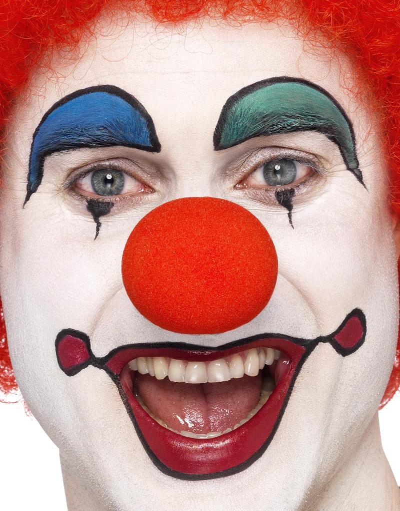 Röd Clownnäsa i Skum