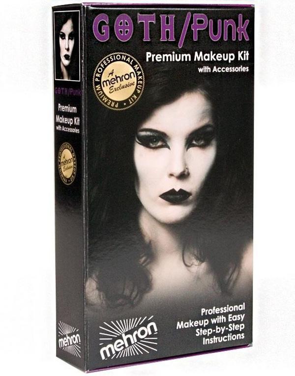 Gothic/Punk - Mehron Deluxe Makeup Kit