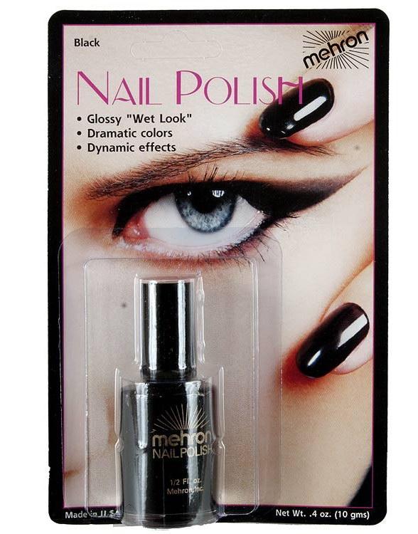 Nail Polish - 10 g - Black (Nagellack)