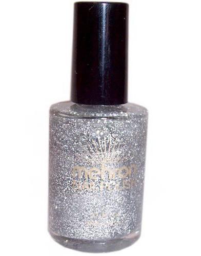 Nail Polish - 10 g - Silver Glitter (Nagellack)