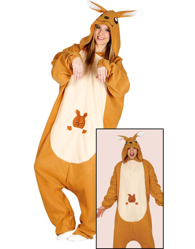 Känguru Kigurumi Unisex Kostym