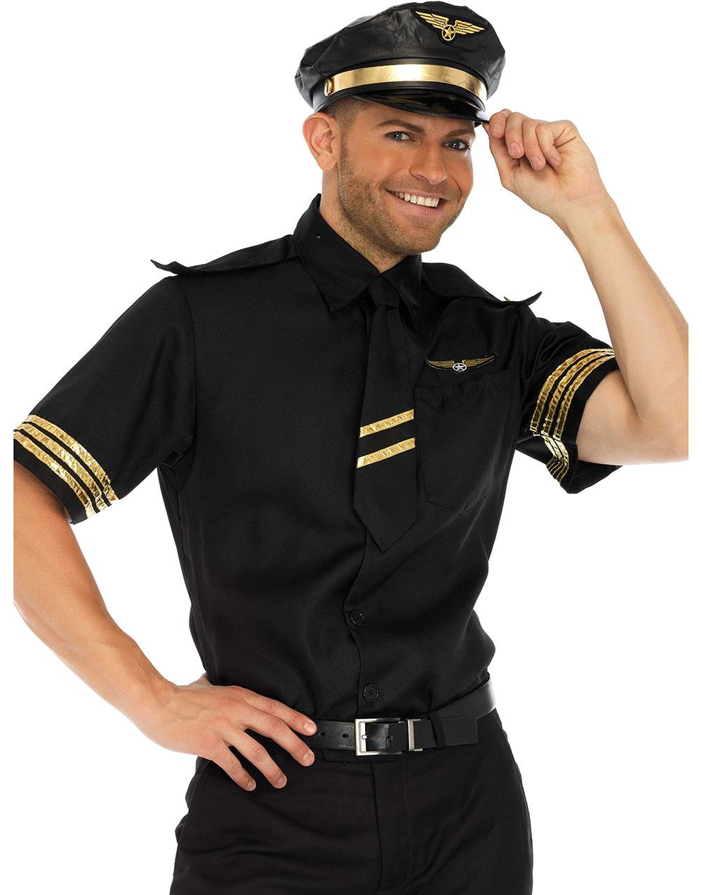 Pilotdräkt för utklädnad - Maskeradprylar.se 4bcd2af3478d7