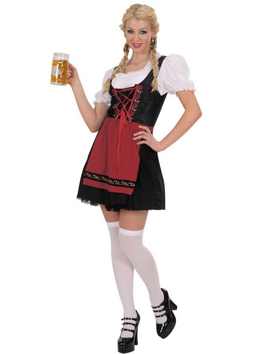 Bayersk Oktoberfest Fröken