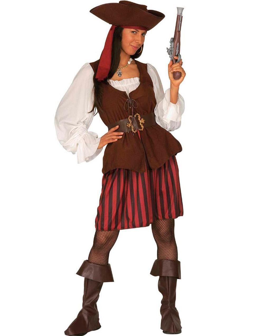 Piratfröken - komplett dräkt