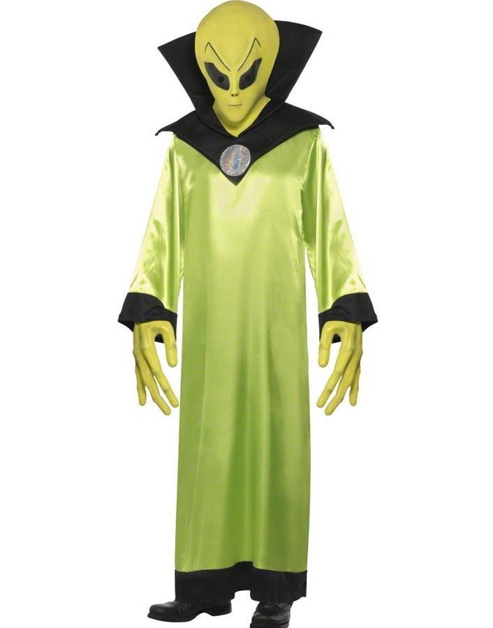 Lord of the Aliens - Komplett lyxdräkt med mask - Strl M-XL