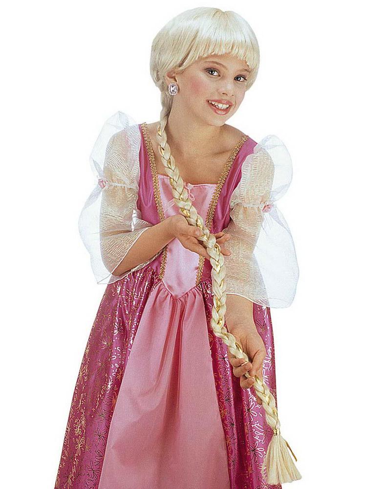 Rapunzel Peruk - Blond Peruk till Barn