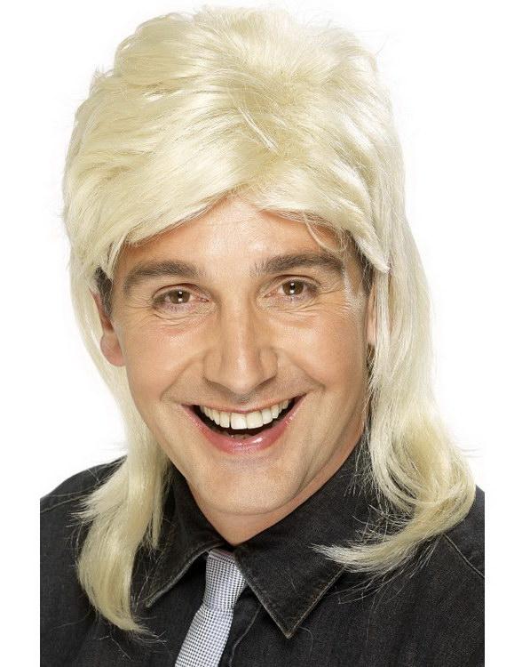 Jason/Hockeyfrilla Peruk - 80-talet - Blond