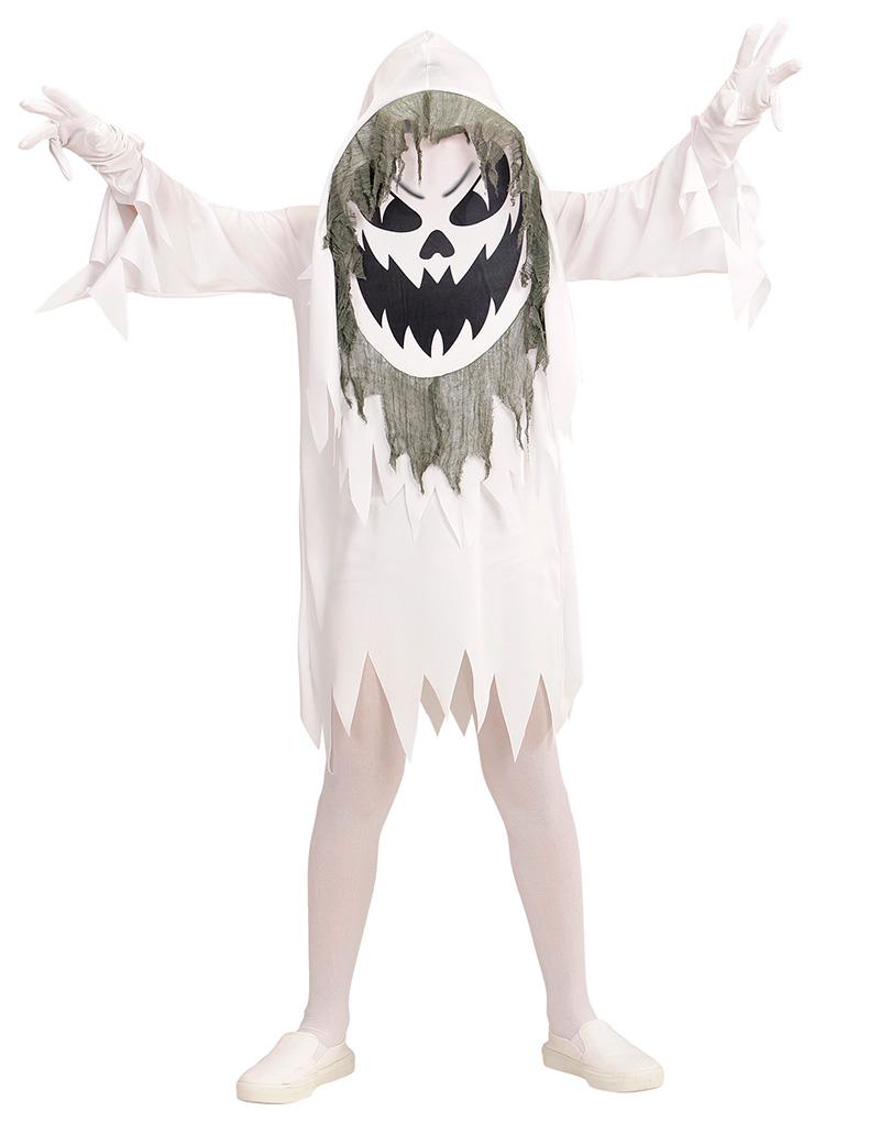 Spökdräkt till Barn med Stor Mask