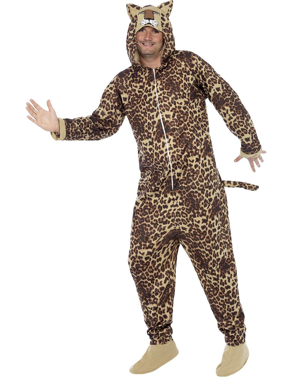 Leopard Kigurumi Unisex Dräkt