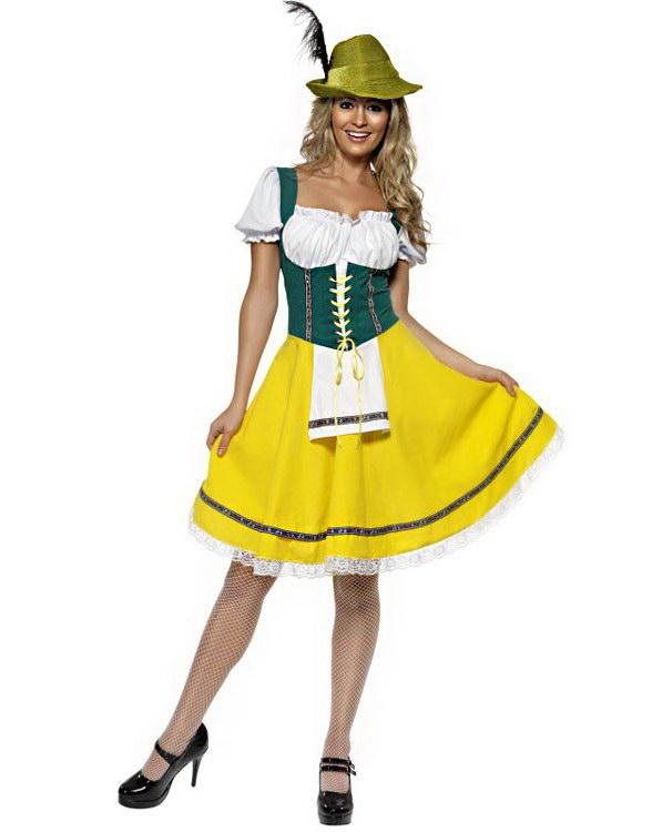 Oktoberfest Fraulein - Dräkt