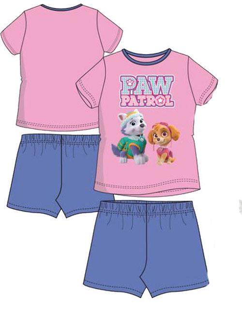 Rosa och Blå Paw Patrol Skye och Everest Pyjamas