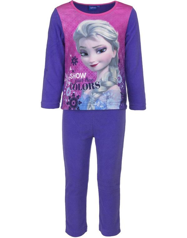Lilla Elsa Pyjamas / Mysdress i Fleece till Barn