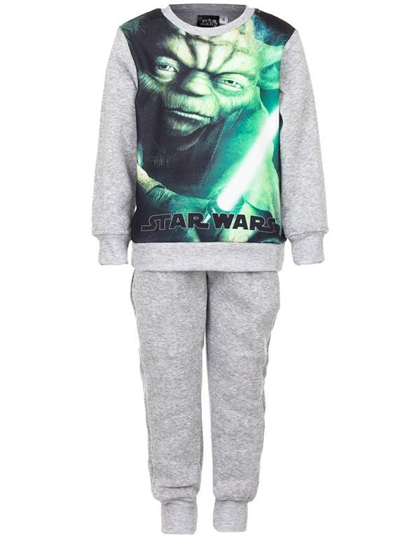 Grå Star Wars Yoda Mysdress till Pojke