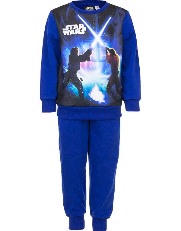 Blå Star Wars Mysdress till Pojke