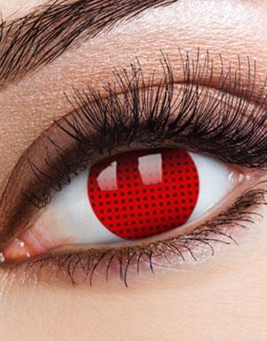 Red Fly Eye Crazylinse