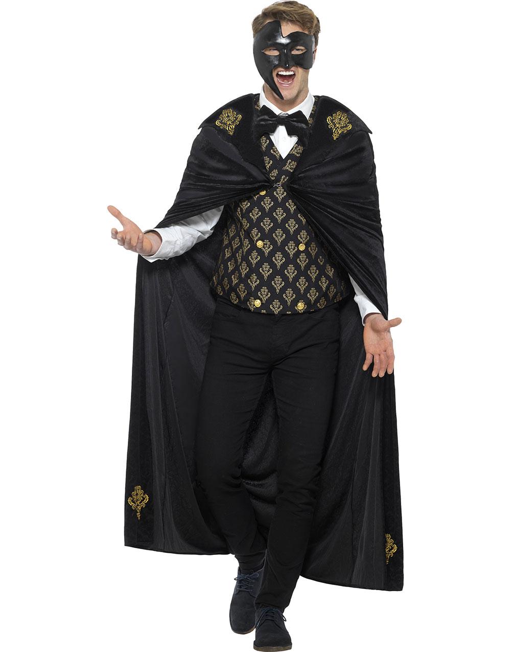 Phantom of the Opera Inspirerad Herrdräkt