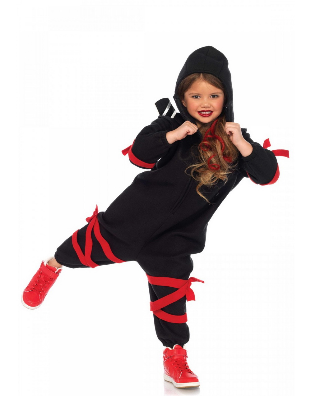 Ninja Kigurumi Maskeraddräkt (Barn)