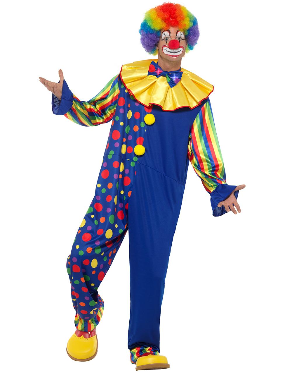 Clowndräkter - Roliga   läskiga clowner - Maskeradprylar.se fe9735d406467