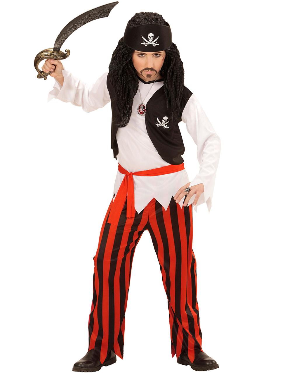 Lille Piraten - Maskeraddräkt (Barn)