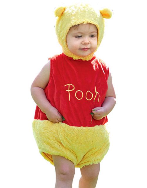 Disney Licensierad Nalle Puh Lyx Babykostym