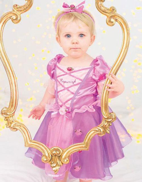 Disney Licensierad Rapunzel Lyx Babykostym