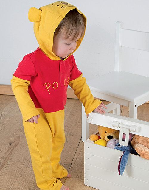 Disney Licensierad Nalle Puh Jumpsuit till Baby
