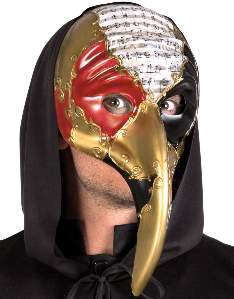"""Venetiansk """"Medico Della Pesta""""-Mask"""