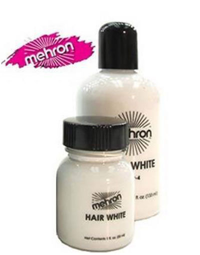 Mehron Hair White - 133 ml Hårfärg