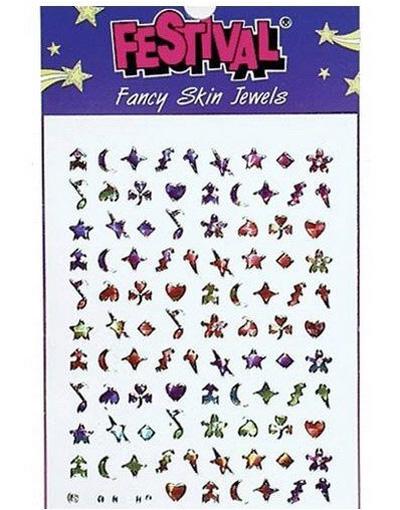 Festival - Fancy Skin Jewels - Colored Notes, etc. (Dekoration till Hud och Naglar)