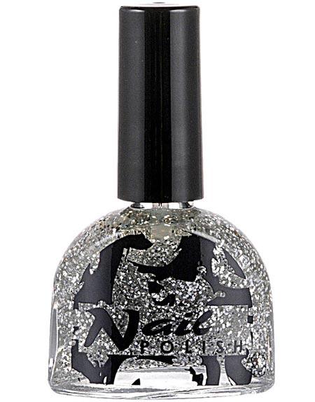 Nagellack 7 ml – Silver med Glitter