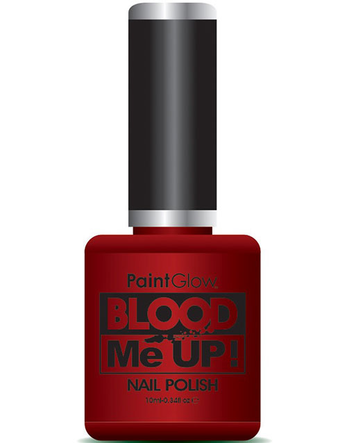 Blood Me Up Nail Polish/Nagellack 10 ml - Rött