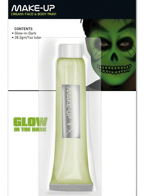Glow-in-Dark Cream Maskeradsmink