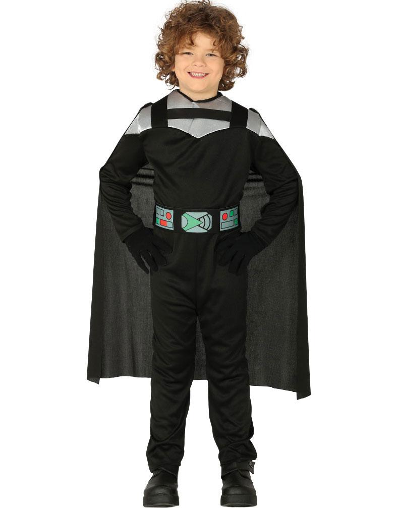 Star Wars Inspirerad Darth Vader Dräkt för Barn