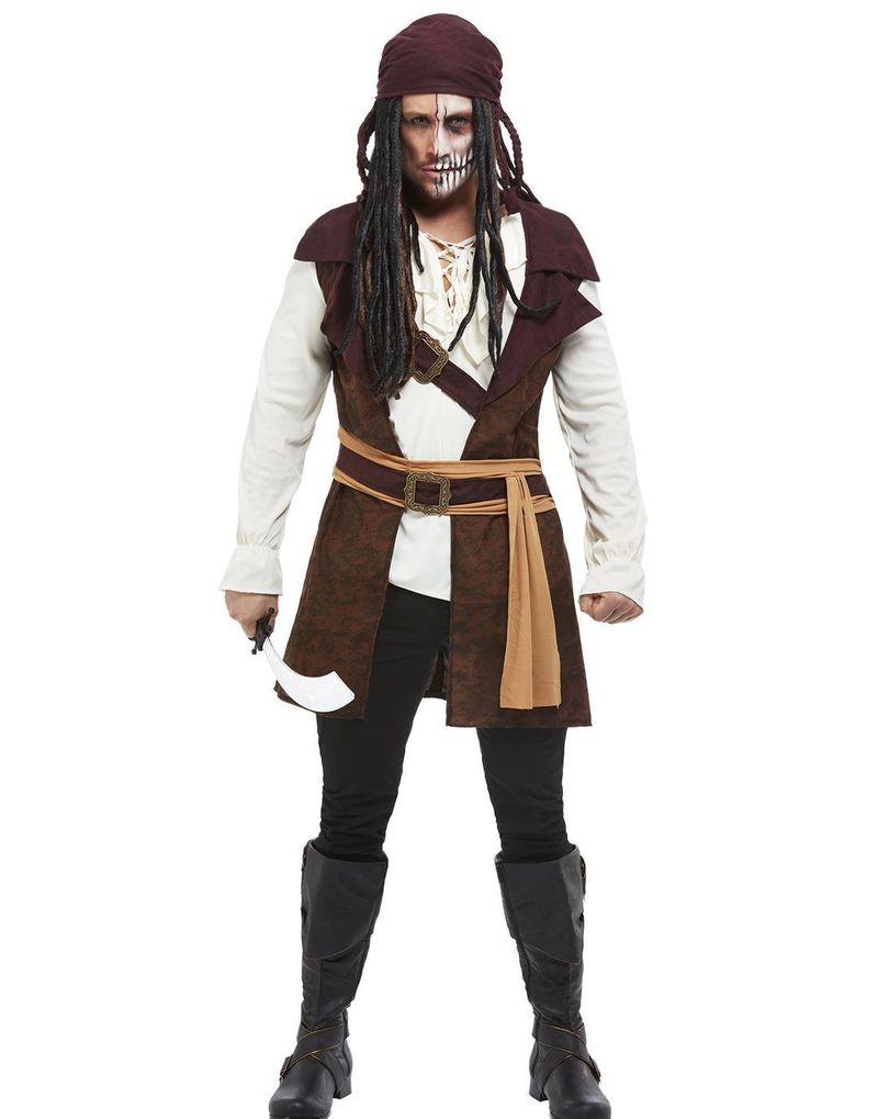 Dark Spirit Pirate - Dräkt till Man