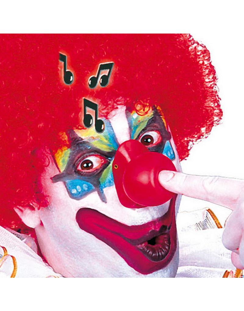 Röd Clownnäsa med Ljud