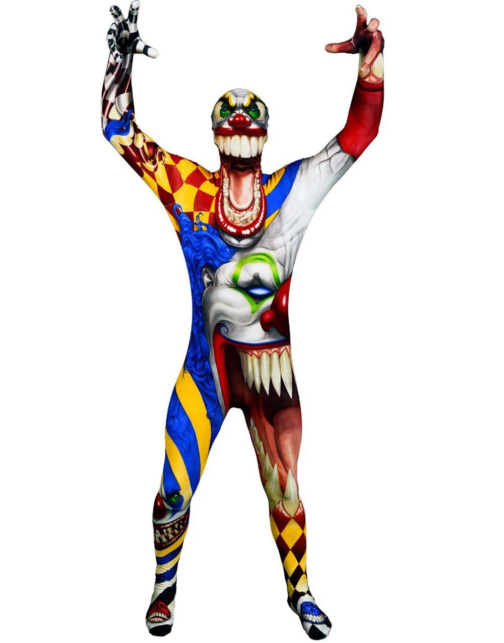 Limited Edition! The Morph Monster Collection - The Scary Clown Original Morphsuit