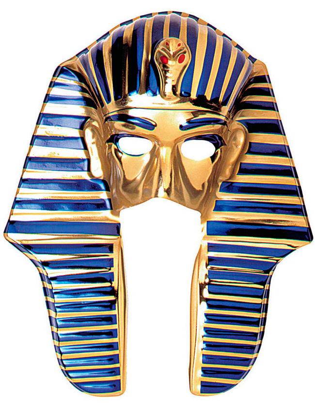 Egyptisk Mask i Plast