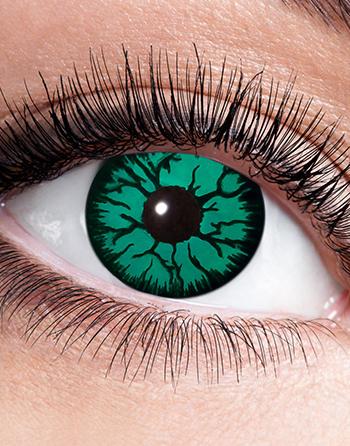 Gröna Monsterögon Crazylinser