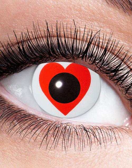 Vita Crazylinser med Röda Hjärtan