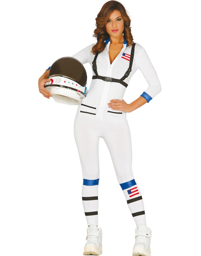 Kvinnlig Astronaut Kostym