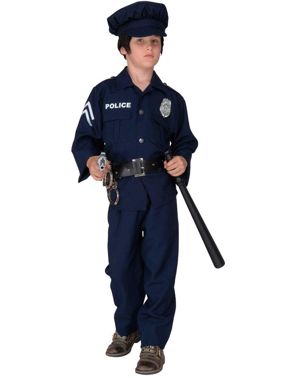 sex maskin polisuniform maskerad