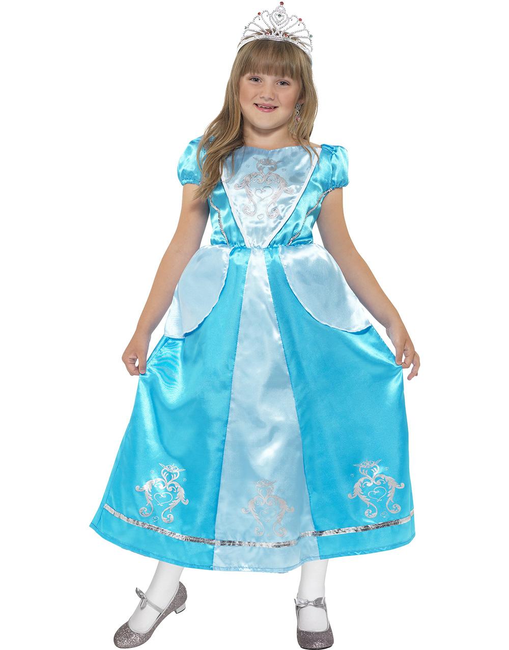 Prinsessan Blåklocka Barnkostym