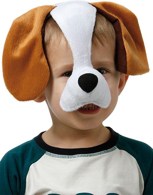 Hund - Diadem med Mask