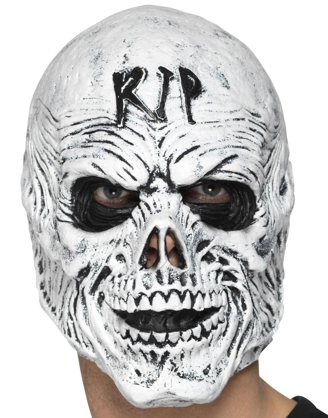 RIP Dödskalle Mask i Skumlatex